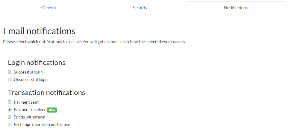 now every time you receive a payment an instant email notification will be sent to your email